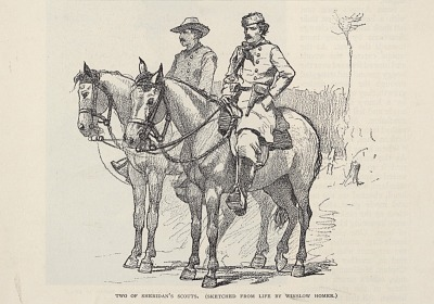 Two of Sheridan's Scouts, from The Century Magazine, November 1887
