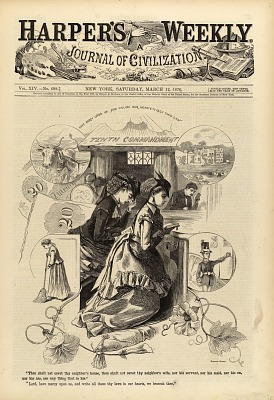 Tenth Commandment, from Harper's Weekly, March 12, 1870