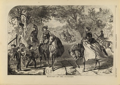 May-Day in the Country, from Harper's Weekly, April 30, 1859