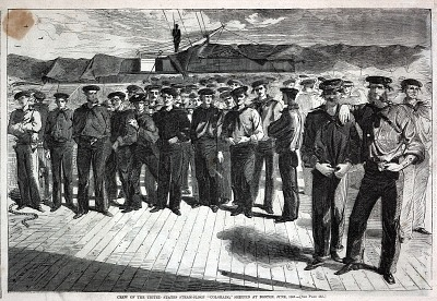 Crew of the United States Steam-Sloop