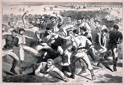 Holiday in Camp--Soldiers Playing