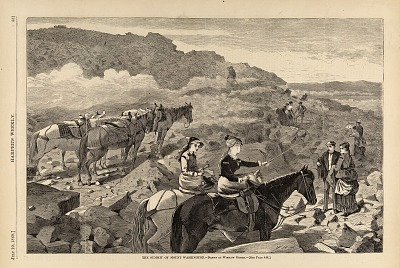 The Summit of Mount Washington, from Harper's Weekly, July 10, 1869