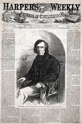 Hon. Roger B. Taney, Chief-Justice of the United States, from Harper's Weekly, December 8, 1860
