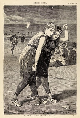 The Bathers, from Harper's Weekly, August 2, 1873
