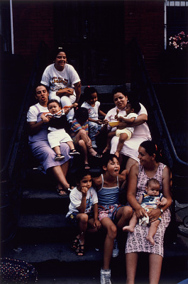 Mothers on the Stoop, from the series Spanish Harlem