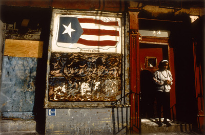 Puerto Rican Flag, from the series Spanish Harlem