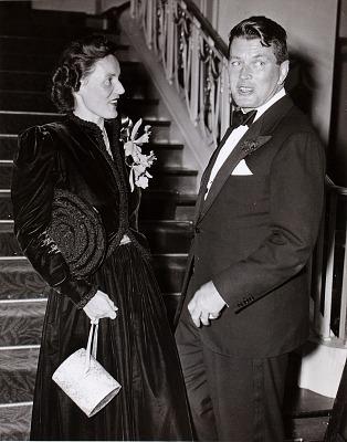 Mr. and Mrs. Gene Tunney, Waldorf-Astoria Hotel, New York City