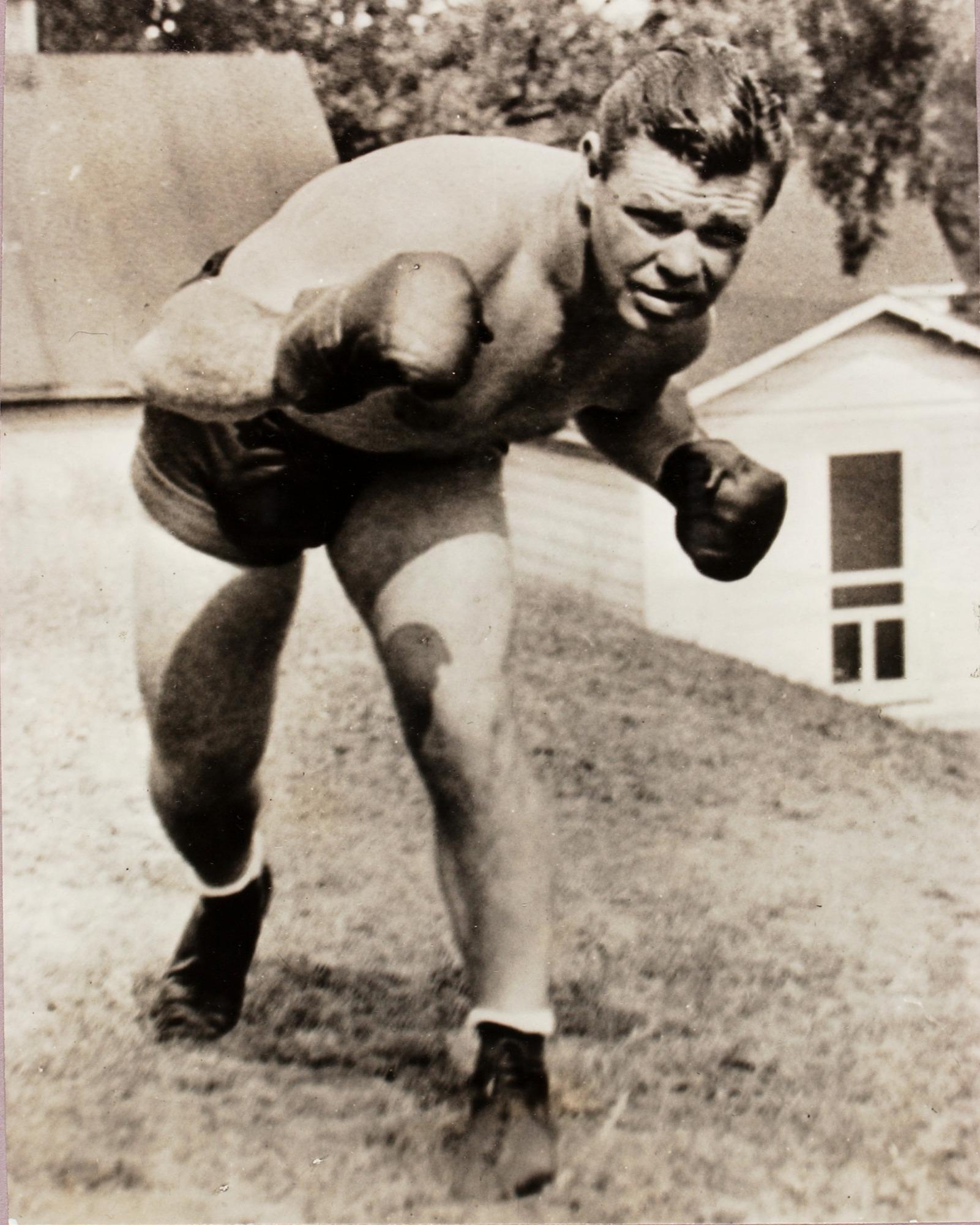 Mickey Walker, full length portrait