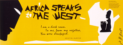 Africa Speaks to the West