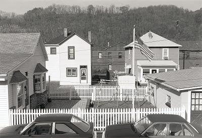 Fenced Yard, Wellsville, Ohio