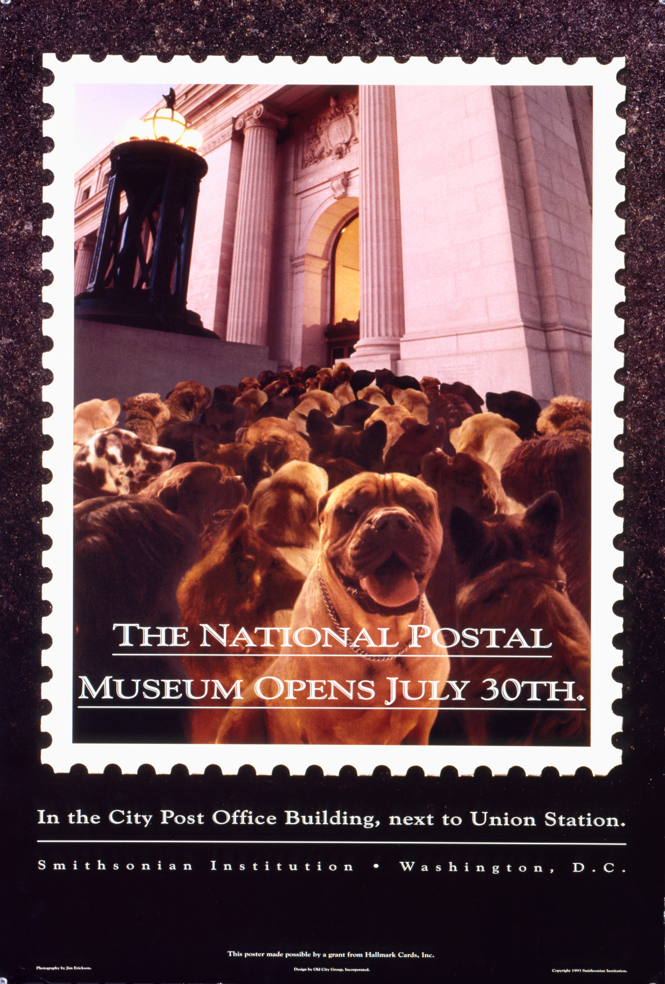 THE NATIONAL POSTAL MUSEUM OPENS JULY 30TH