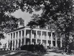 Large white house