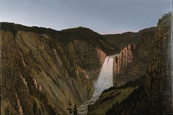 Flooded Canyon: Clear Dawn at Yellowstone