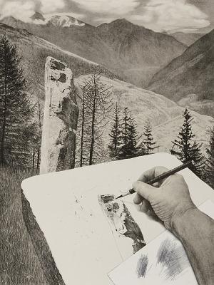 Megalith Envy, from the portfolio Drawn to Stone