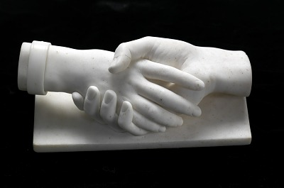 Clasped Hands of Dr. and Mrs. Allen M. Sumner