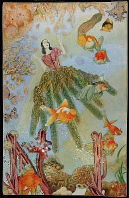 Untitled (Marine Fantasy with Tamara Toumanova)