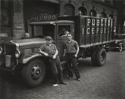 Truckdrivers, New York City