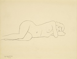 Untitled (reclined female figure)