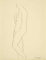 Untitled (standing female figure)