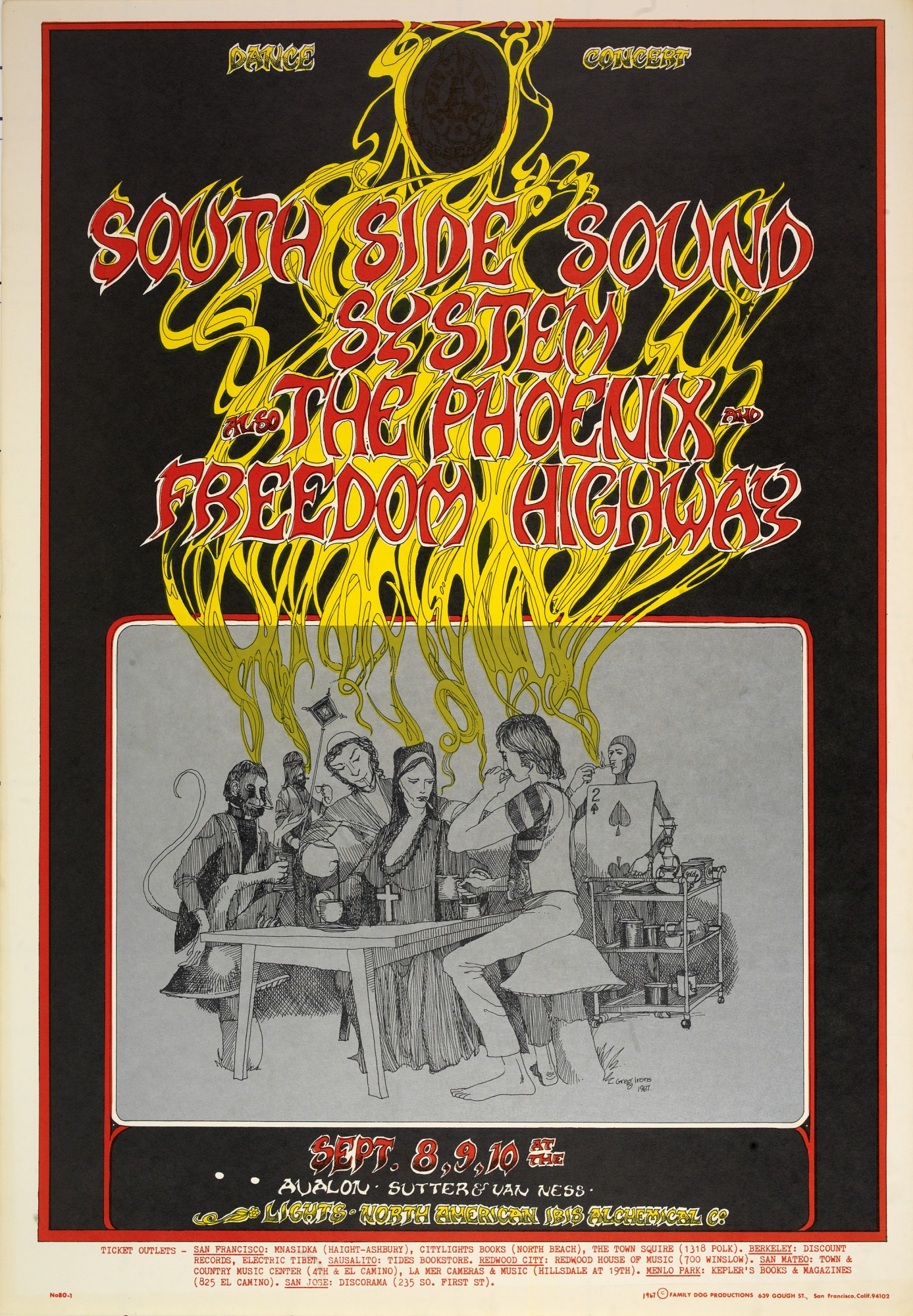 Image for Tea Party (South Side Sound System, The Phoenix...Avalon Ballroom, San Francisco, California 9/8/67-9/10/67)