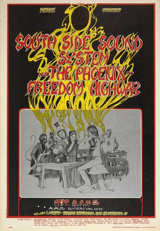Image for Tea Party (South Side Sound System, The Phoenix...Avalon Ballroom, San Francisco, California 9/8/67-9/10/67)