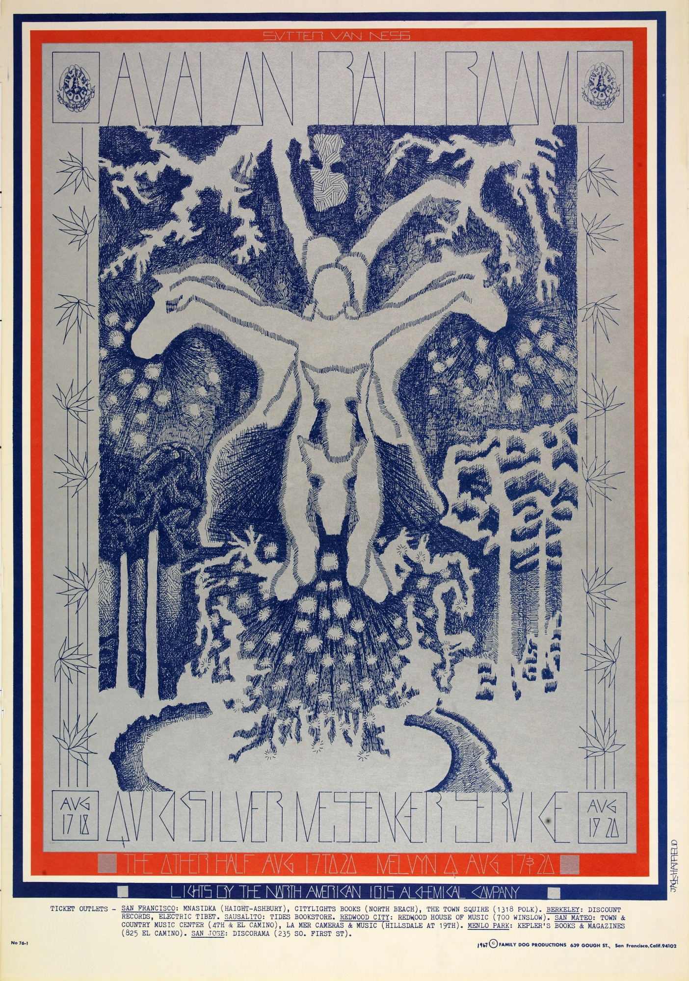 Image for High Yo Silver (Quicksilver Messenger Service, The Other Half...Avalon Ballroom, San Francisco, California 8/17/67-8/20/67)