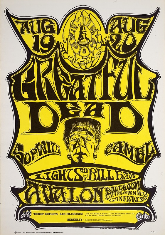 Image for Greatful Dead (Grateful Dead, Sopwith Camel...Avalon Ballroom, San Francisco, California 8/19/66-8/20/66)