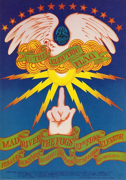 Image for The Finger (The Electric Flag, Mad River...Avalon Ballroom, San Francisco, California 2/2/68-2/4/68)