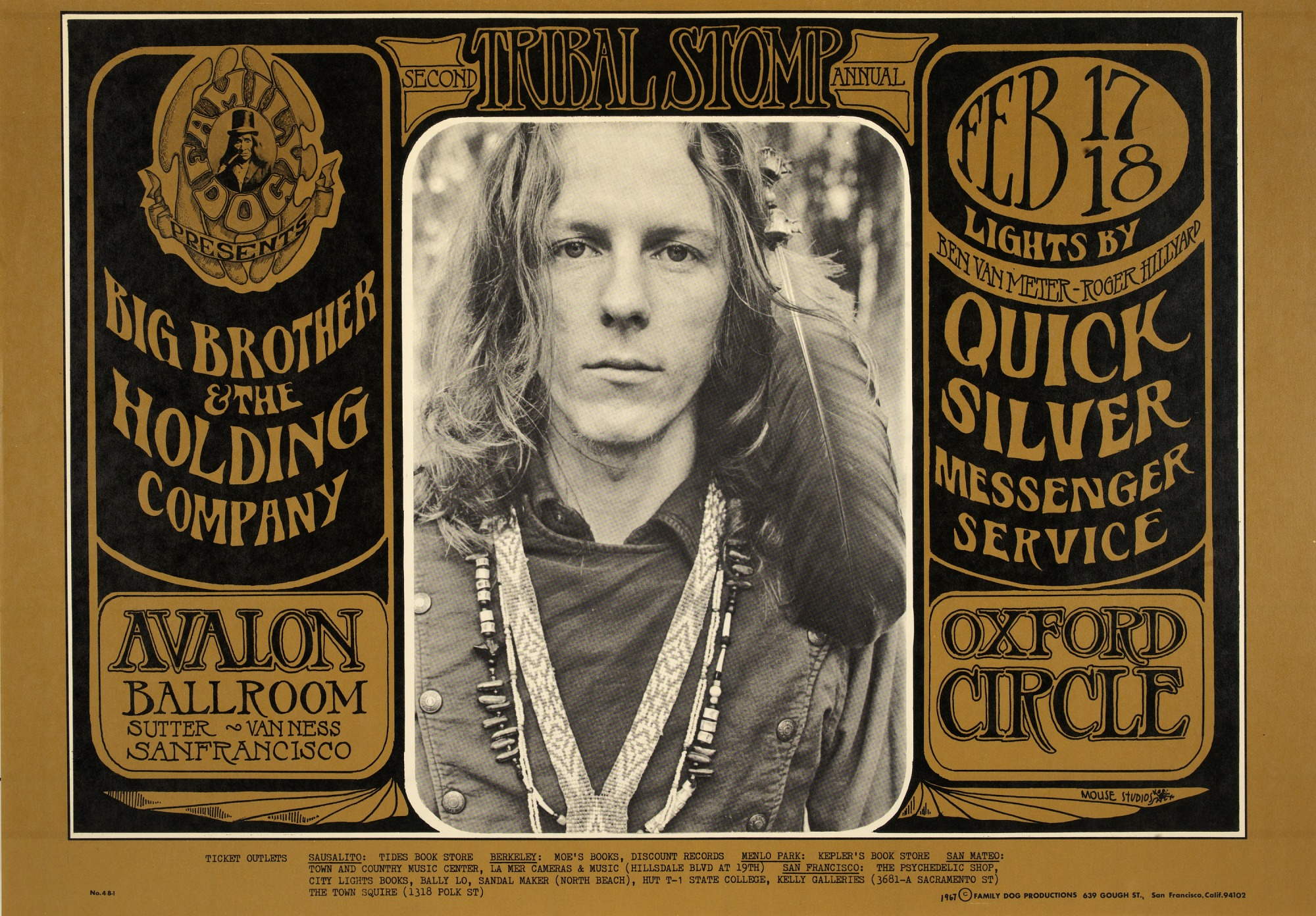 Image for Tribal Stomp #2 (Big Brother and the Holding Company, Quicksilver Messenger Service...Avalon Ballroom, San Francisco, California 2/17/67 - 2/18/67)