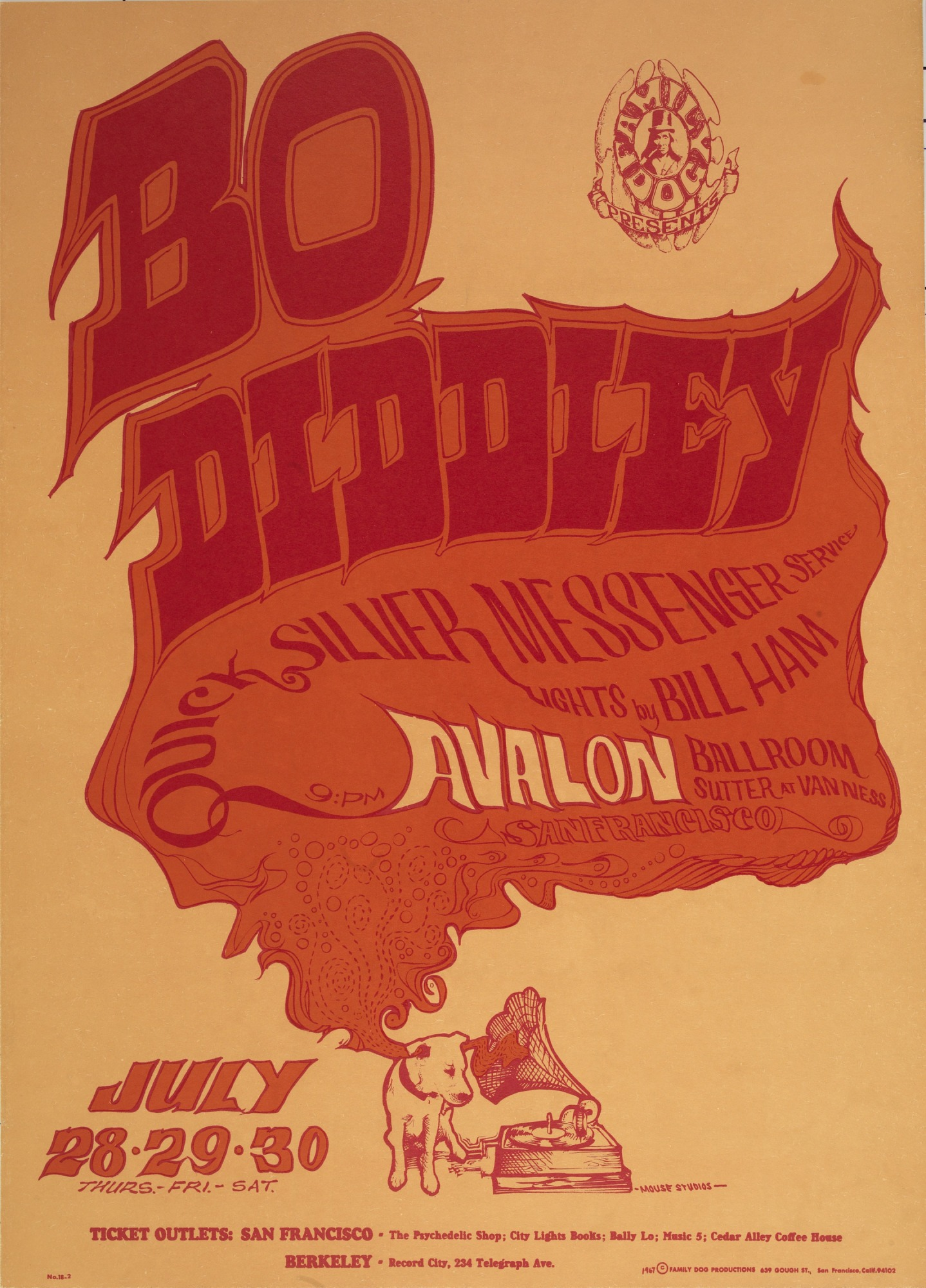 Image for Voice of Music (Bo Diddley, Quicksilver Messenger Service...Avalon Ballroom, San Francisco, California 7/28/67-7/30/67)