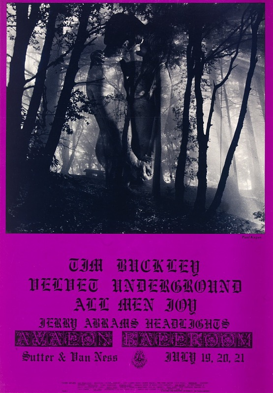 Image for In a Woodpile (Tim Buckley, Velvet Underground...Avalon Ballroom, San Francisco, California 7/19/68-7/21/68)