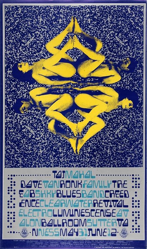 Image for Mechanico Mandala (Taj Mahal, Dave Van Ronk...Avalon Ballroom, San Francisco, California 5/31/68-6/2/68)