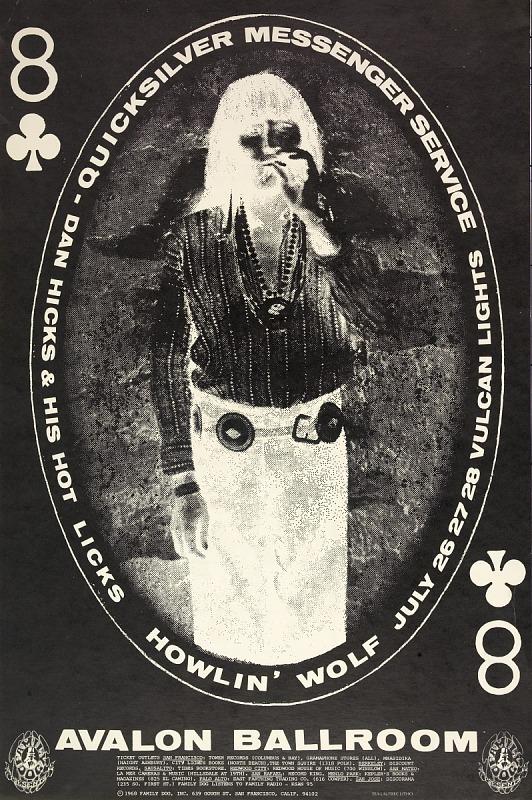 Image for Black and White Indian (Quicksilver Messenger Service, Howlin' Wolf...Avalon Ballroom, San Francisco, California 7/26/68-7/28/68)