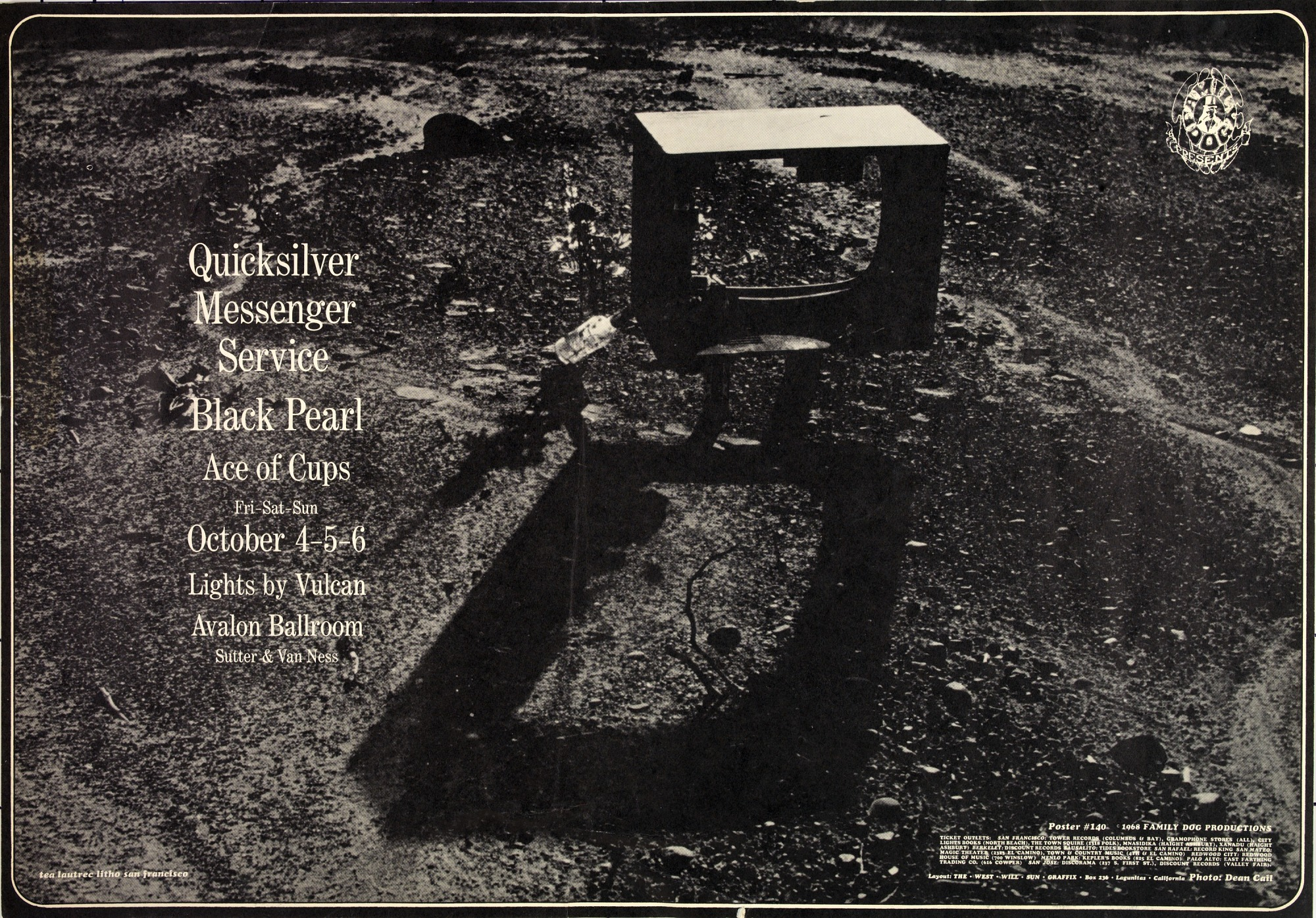 Image for Quicksilver Messenger Service, Black Pearl...Avalon Ballroom, San Francisco, California 10/4/68-10/6/68