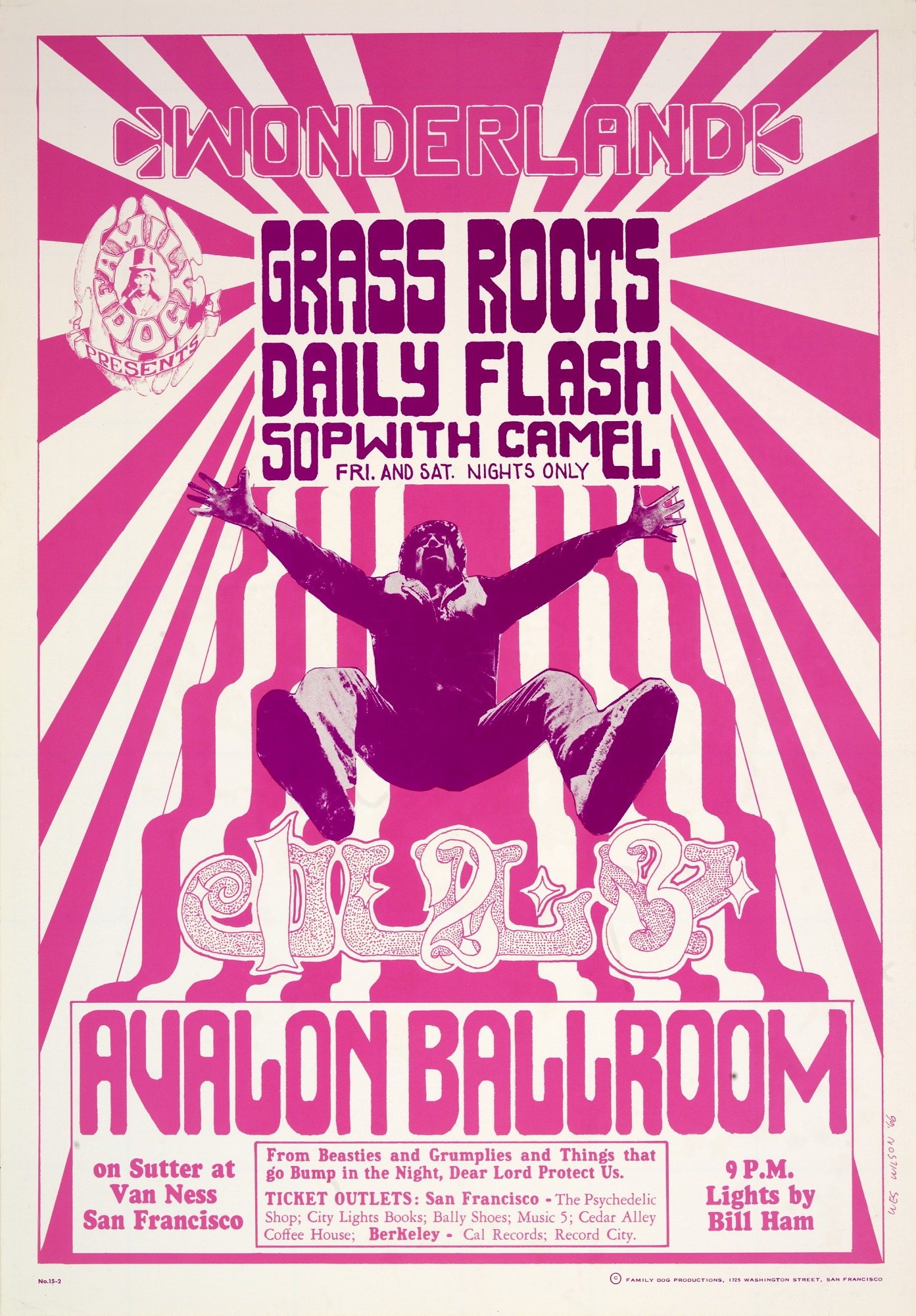 Image for Wonderland (Grass Roots, Daily Flash...Avalon Ballroom, San Francisco, California 7/1/66-7/3/66)