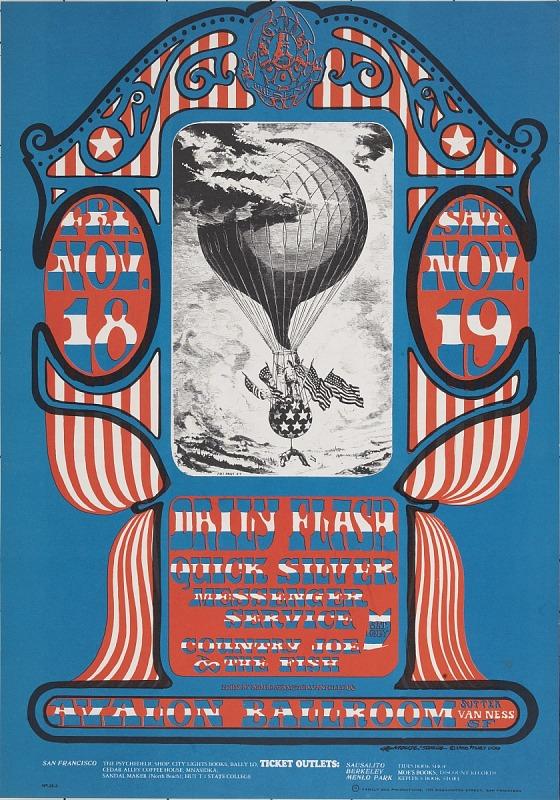 Image for Balloon (Daily Flash, Quicksilver Messenger Service...Avalon Ballroom, San Francisco, California 11/18/66-11/19/66)