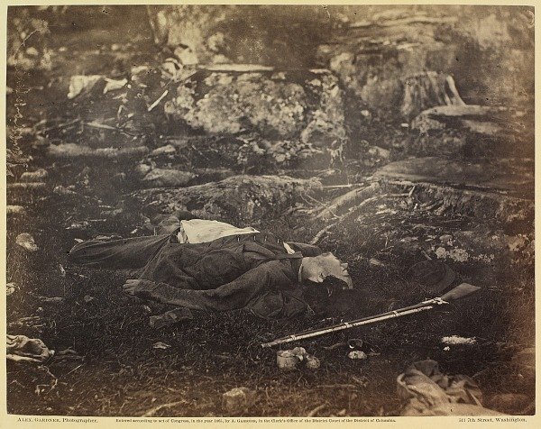 Incidents of the War: A Sharpshooter's Last Sleep
