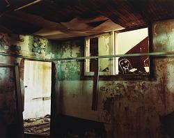 Inside a school in Forrest, eastern New Mexico, July 17,1992