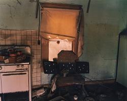 Homemade space shuttle in a house in Modoc, western Kansas, May 15, 1996