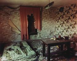 Inside a house near Golva, western North Dakota, June 8, 2000