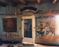 Honky-tonk near Vaughn, eastern New Mexico, May 21, 1991
