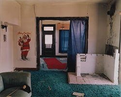 View inside a house in Ancho, eastern New Mexico, May 14, 2000