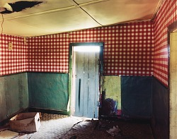 Kitchen in a house near Tecolote, eastern New Mexico, May 5, 1992