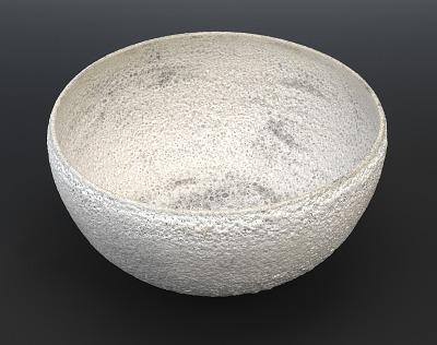 White Lava Glaze Bowl