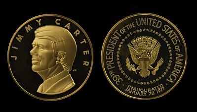 Jimmy Carter Presidential Inaugural Medal