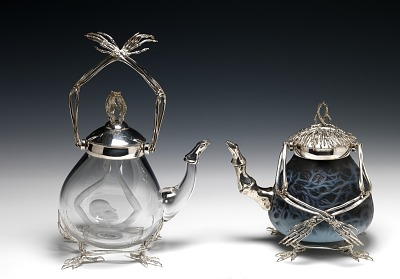 Baba Yaga's Teapots for Brewing Light and Dark Spells