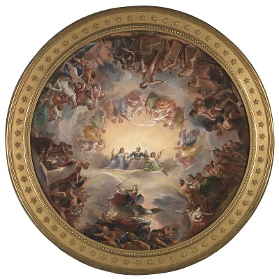 Study for the Apotheosis of Washington in the Rotunda of the United States Capitol Building