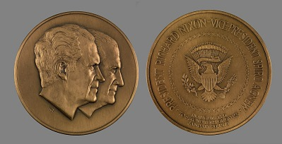 Richard Milhouse Nixon and Spiro Agnew Presidential Inaugural Medal