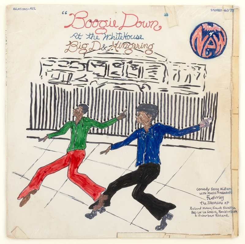 "Image for ""Boogie Down"" at the White House, Big D & Mingering"