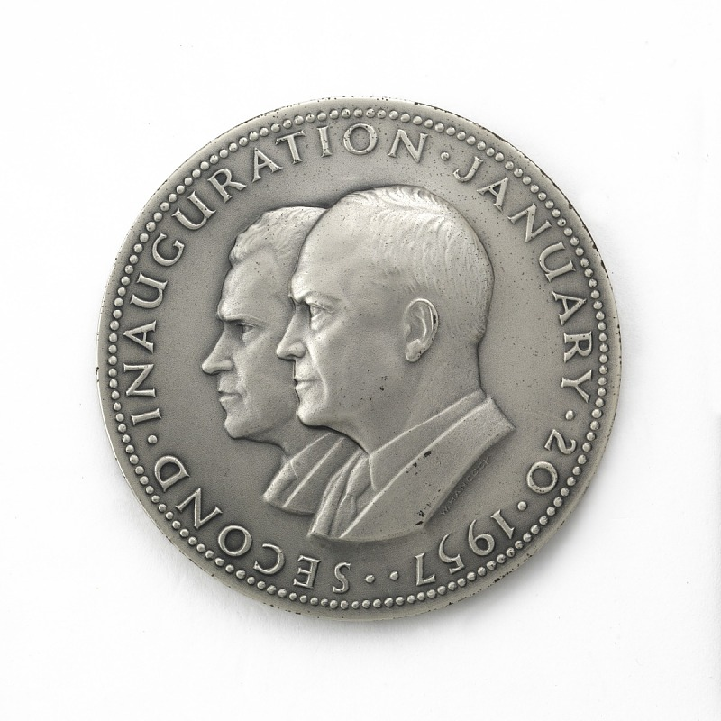Image for Dwight David Eisenhower and Richard Milhous Nixon Inaugural Medal